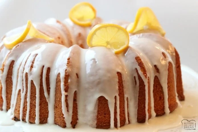 Lemon Buttermilk Pound Cake is a classic pound cake recipe with the addition of fresh lemon! Buttermilk gives this Lemon Pound Cake a wonderful texture and everyone loves the bright flavor of the lemon glaze. It's the perfect buttermilk pound cake recipe!