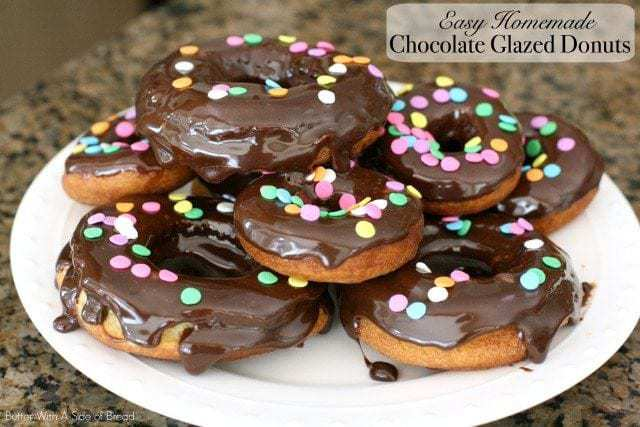 Easy Chocolate Glazed Donuts - Butter With A Side of Bread