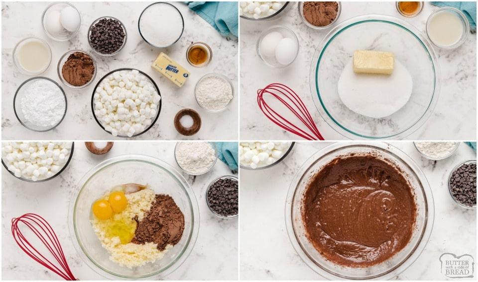 how to make homemade brownies