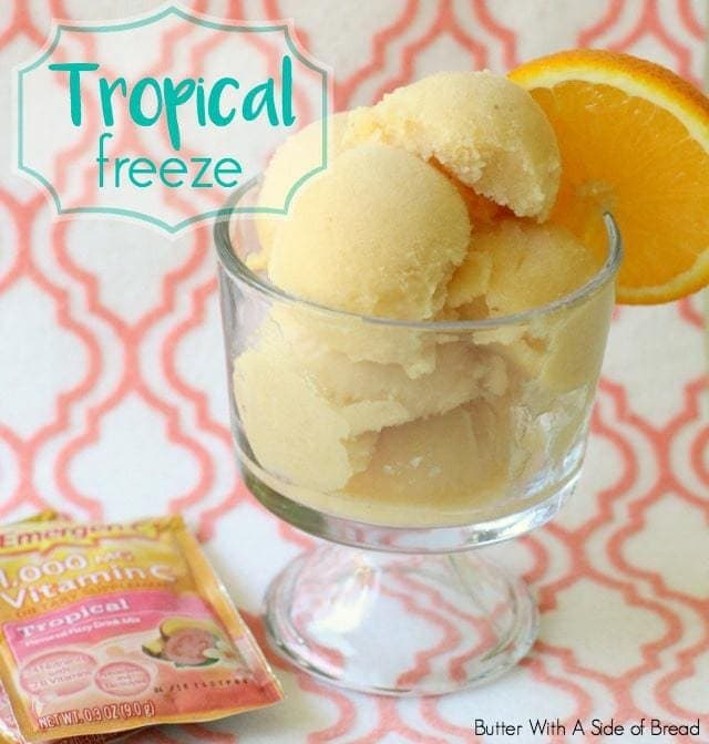 Emergen-C Tropical Freeze - Butter With A Side of Bread
