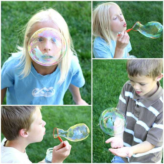 Summer Fun with Bubbles - #ShareFunshine