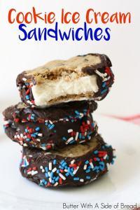 Cookie Ice Cream Sandwiches.Krusteaz.IMG_0046