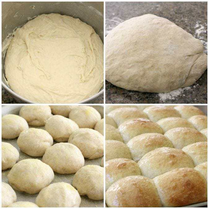 Soft Cornmeal Rolls - Butter With A Side of Bread