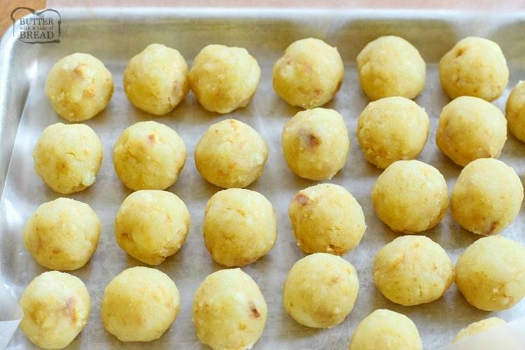 how to make lemon cake truffles
