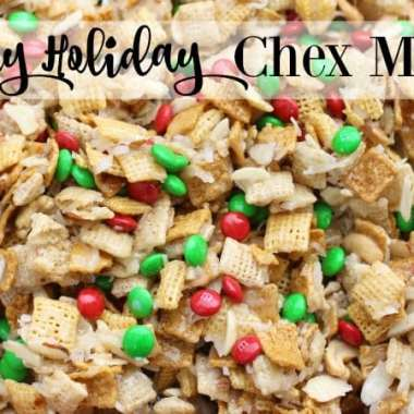 Gooey Holiday Chex Mix - Butter With A Side of Bread