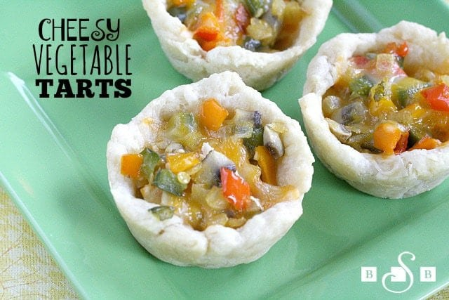 Cheesy Vegetable Tarts - Butter With a Side of Bread