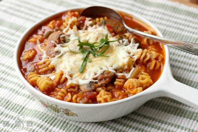 Lasagna Soup - Butter With A Side of Bread
