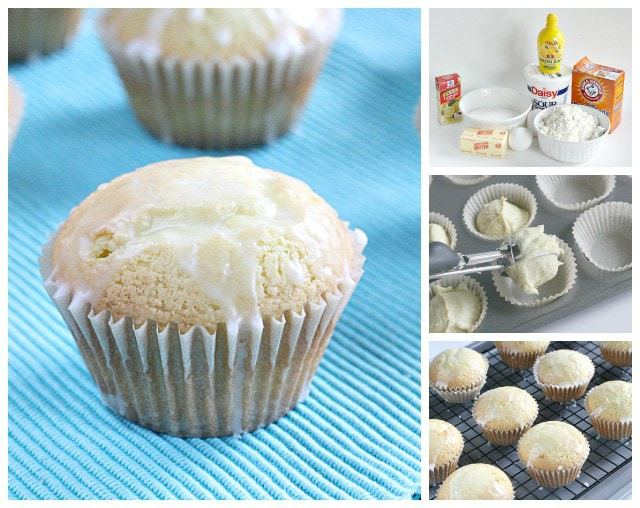 Lemon Pound Cake Muffins - Butter With a Side of Bread