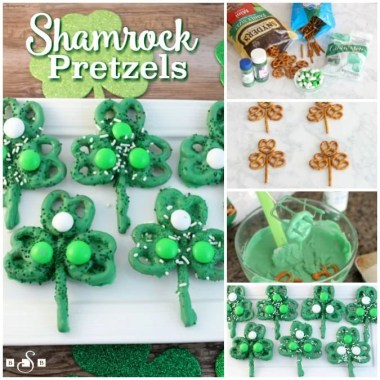 Shamrock Pretzels - Butter With A Side of Bread