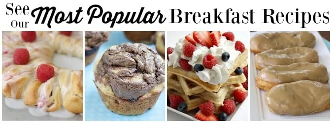 Popular Breakfast Recipes - Butter With a Side of Bread