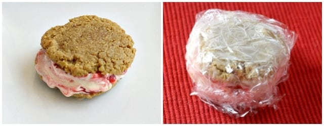 Cherry Cheesecake Ice Cream Sandwiches - Butter With a Side of Bread