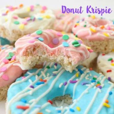Donut Krispie Treats - Butter With A Side of Bread