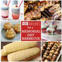 Recipes for a Memorial Day BBQ