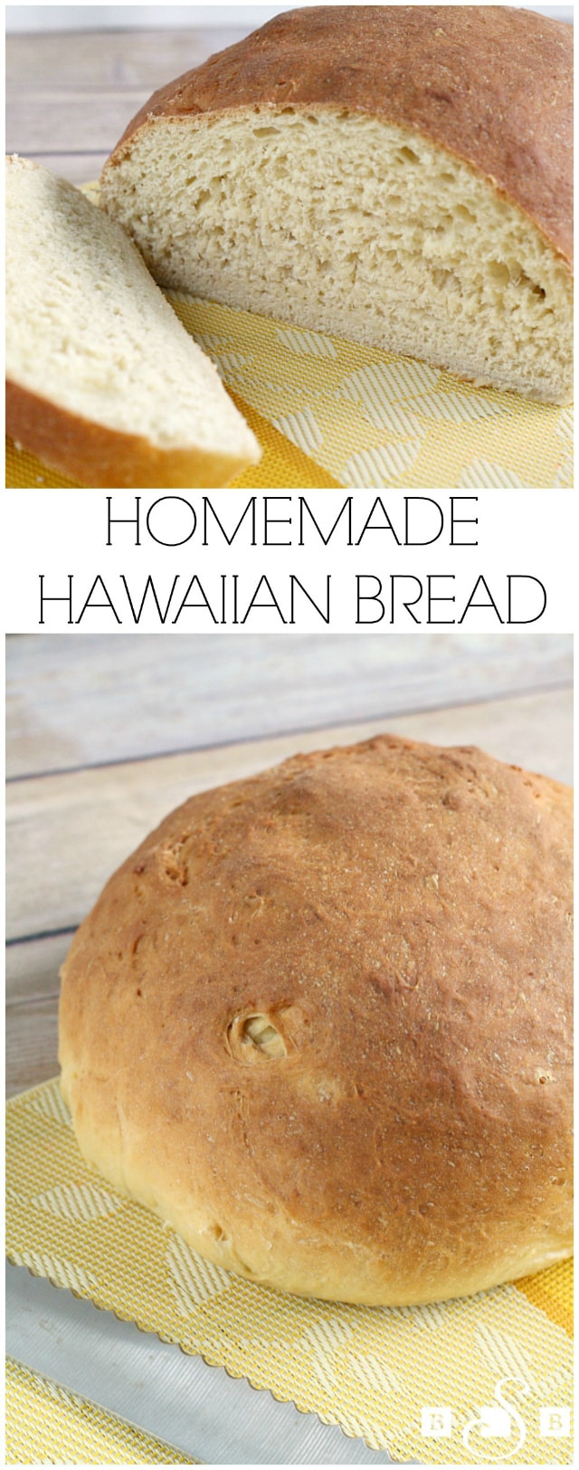 Hawaiian Bread made fresh with butter, eggs, flour, pineapple juice, ginger and vanilla. Simple, flavorful #Hawaiian #Bread recipe you can enjoy at home!