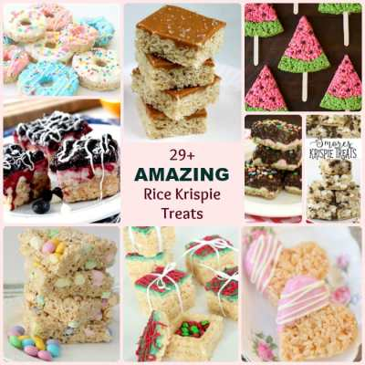 BEST RICE KRISPIE TREATS RECIPES