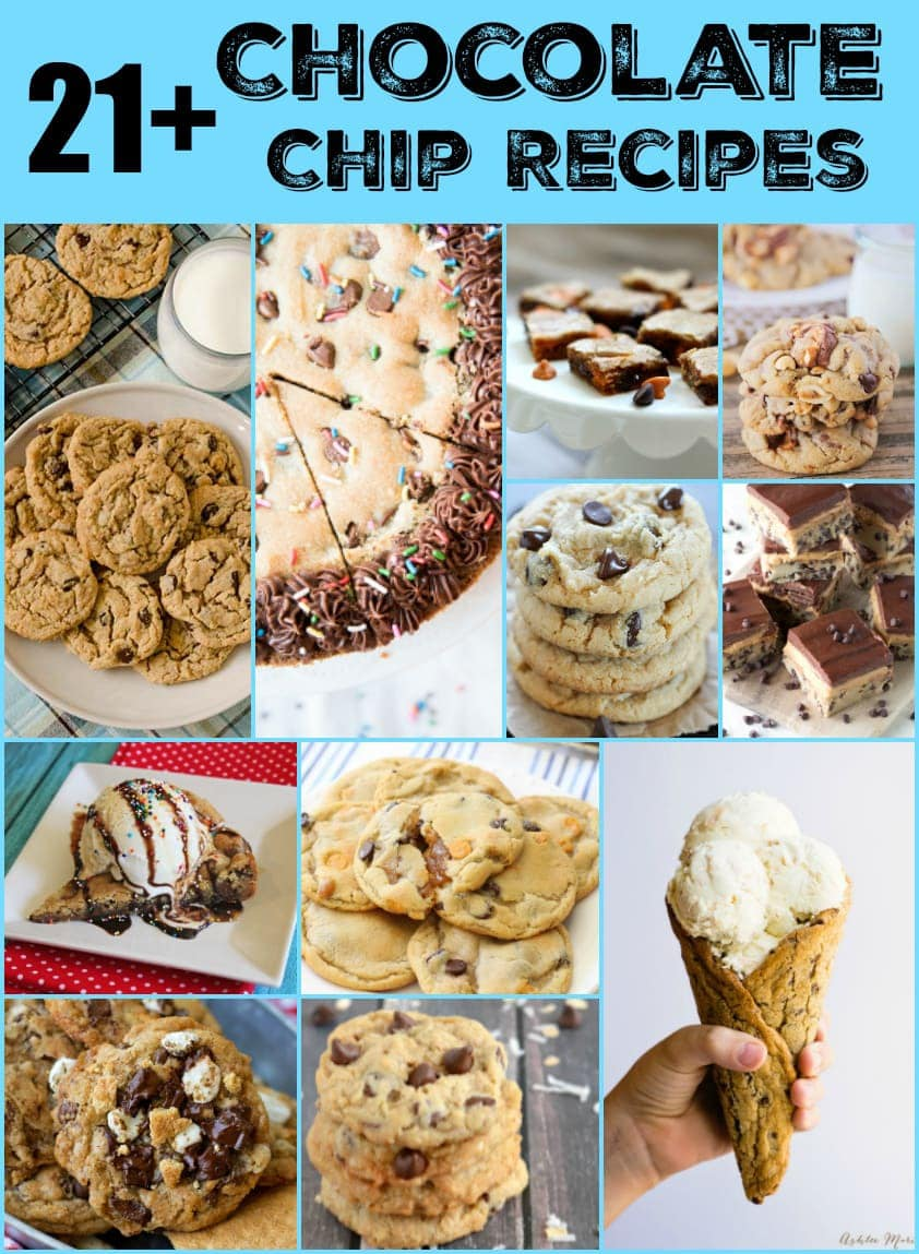 21+ Chocolate Chip Recipes from Butter With A Side of Bread