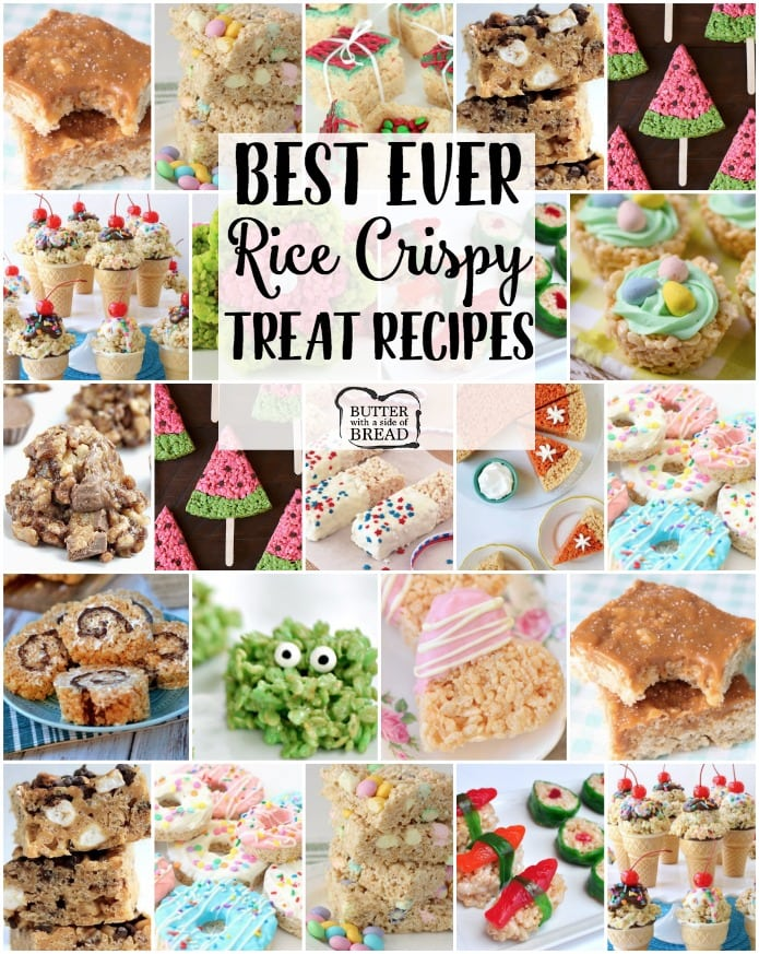 Best Rice Krispie Treats Recipes Butter With A Side Of Bread