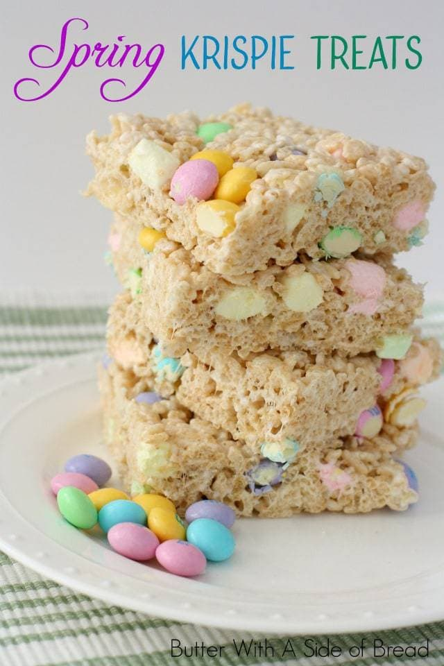 Rice Krispie Recipes - Butter With A Side of Bread