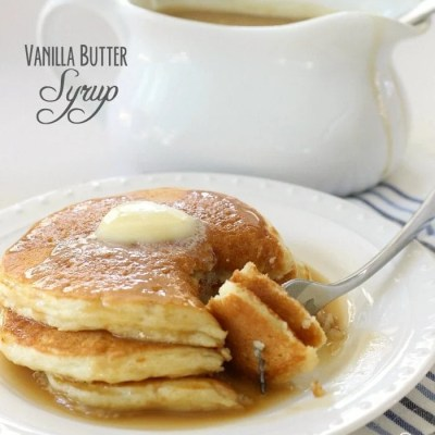 VANILLA BUTTER SYRUP
