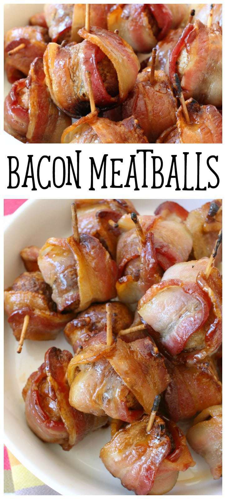 Bacon Wrapped Meatballs - Butter With A Side of Bread