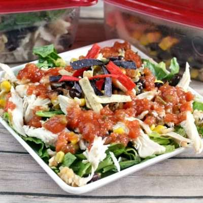 MAKE AHEAD MEAL PREP: SOUTHWEST CHICKEN AND RICE BOWLS