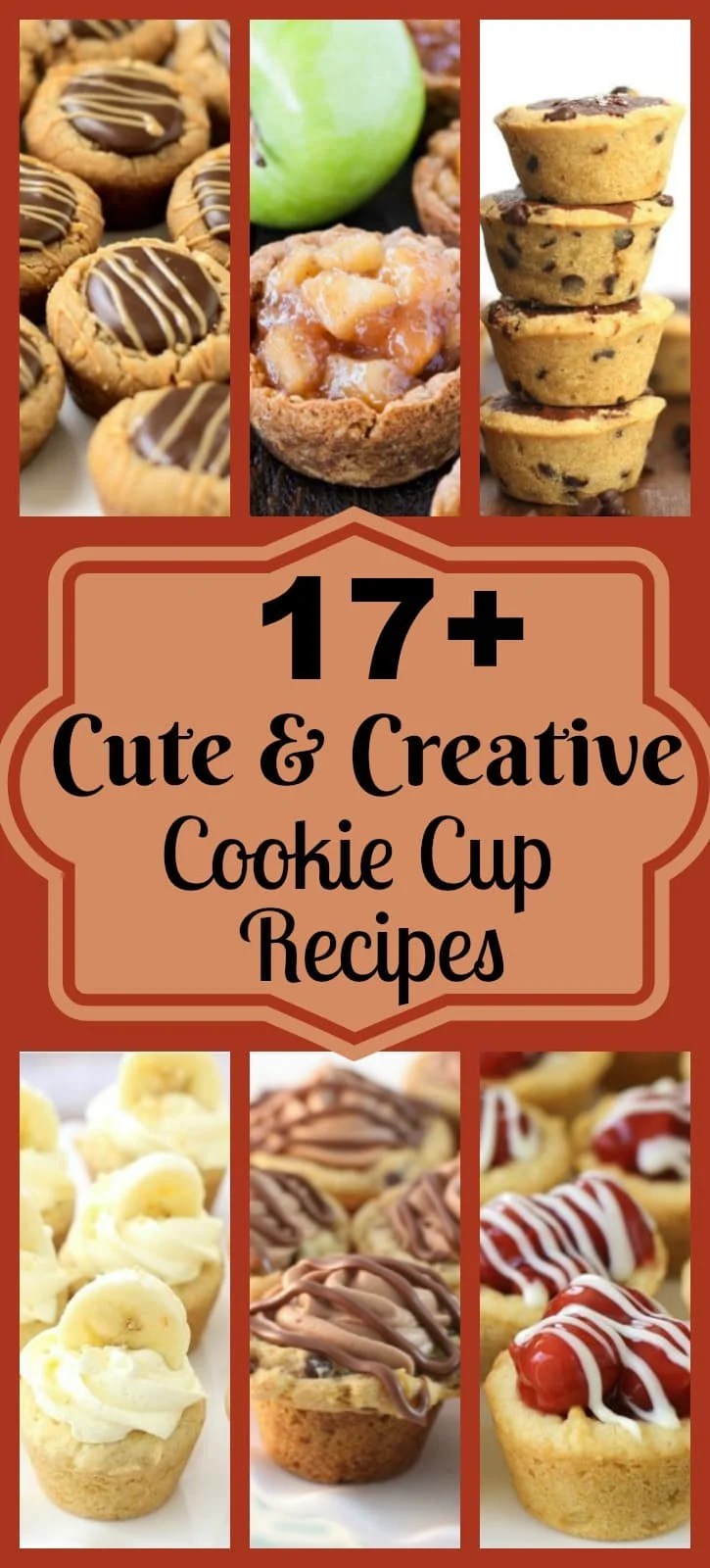Cookie Cup Recipes are some of my very favorite desserts to make for any gathering! These bite-sized treats are filled with a variety of flavors and are easy to make. They make a good amount, are the perfect bite size treat and are so delicious.