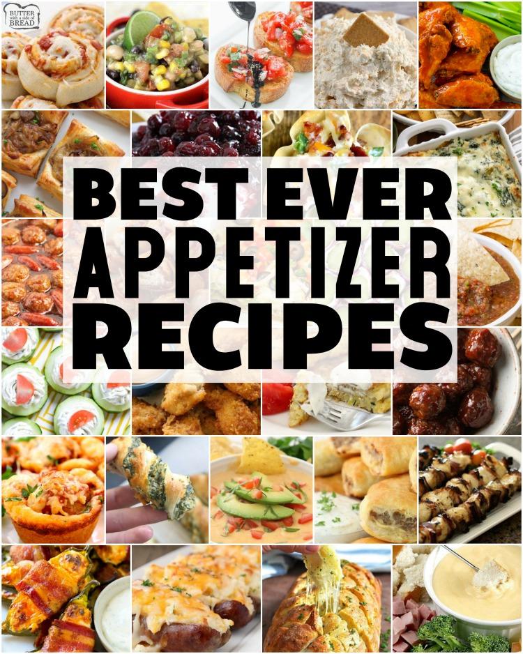 5+ Best Appetizer Recipes