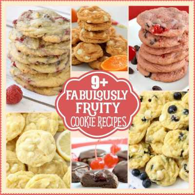 FABULOUSLY FRUITY COOKIE RECIPES