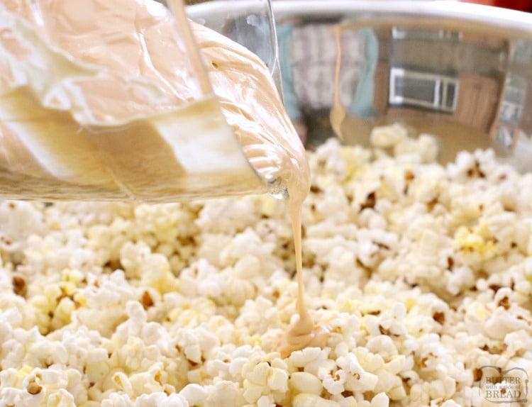how to make gameday popcorn mix recipe