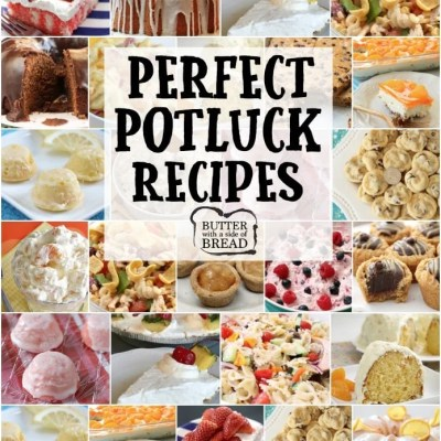 20 PERFECT POTLUCK RECIPES