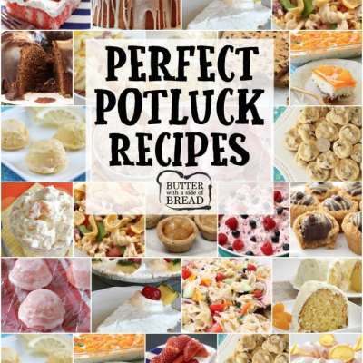PERFECT POTLUCK RECIPES