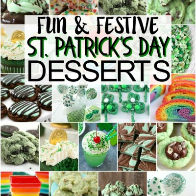 FUN & FESTIVE ST. PATRICK'S DAY FOOD