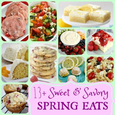 BEST SPRING RECIPES