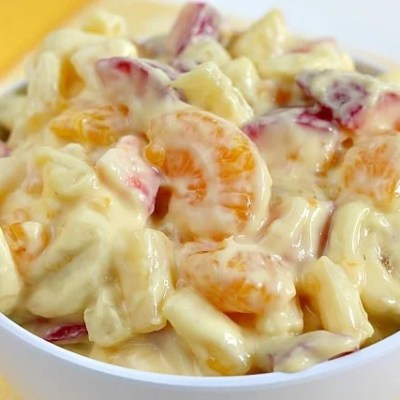 CREAMY ORANGE FRUIT SALAD