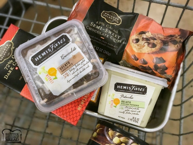 HemisFares Gelato authentic Italian Ice Cream found in local Krogery grocery stores