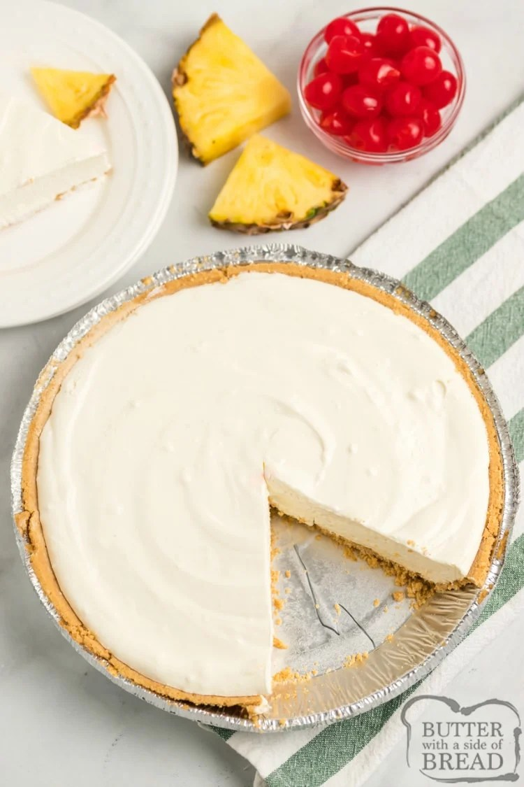 No bake pie recipe with four ingredients