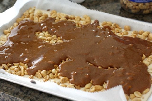 Homemade Snickers Bars ~ Butter With A Side of Bread