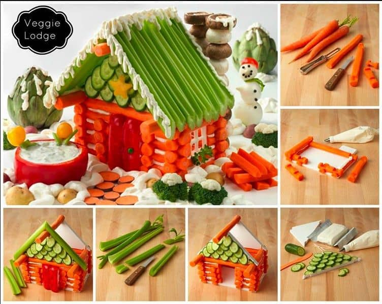 FESTIVE CHRISTMAS VEGGIE TRAYS \u0026 PLATTERS , Butter with a