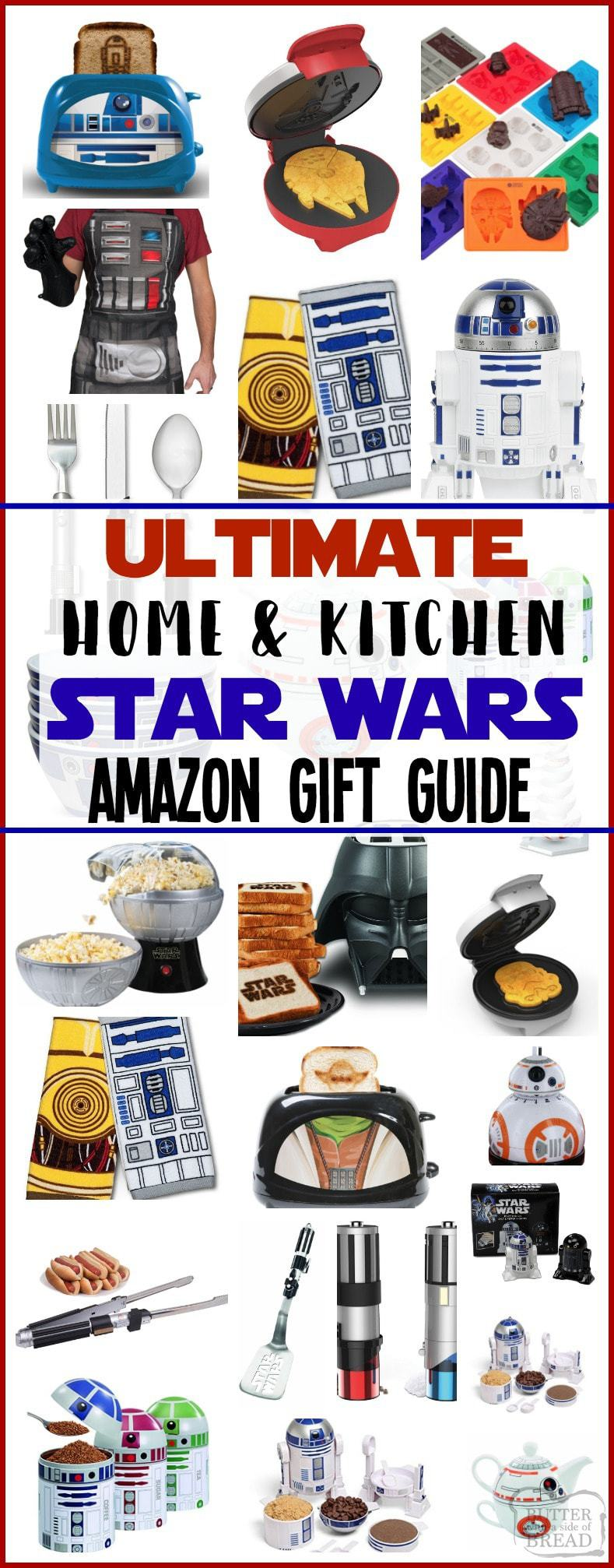 Best Star Wars Gifts on Amazon for the home & kitchen! Find the perfect home and kitchen Star Wars gift on Amazon for the ultimate fan. #StarWars #Gifts #Amazon #StarWarsGifts