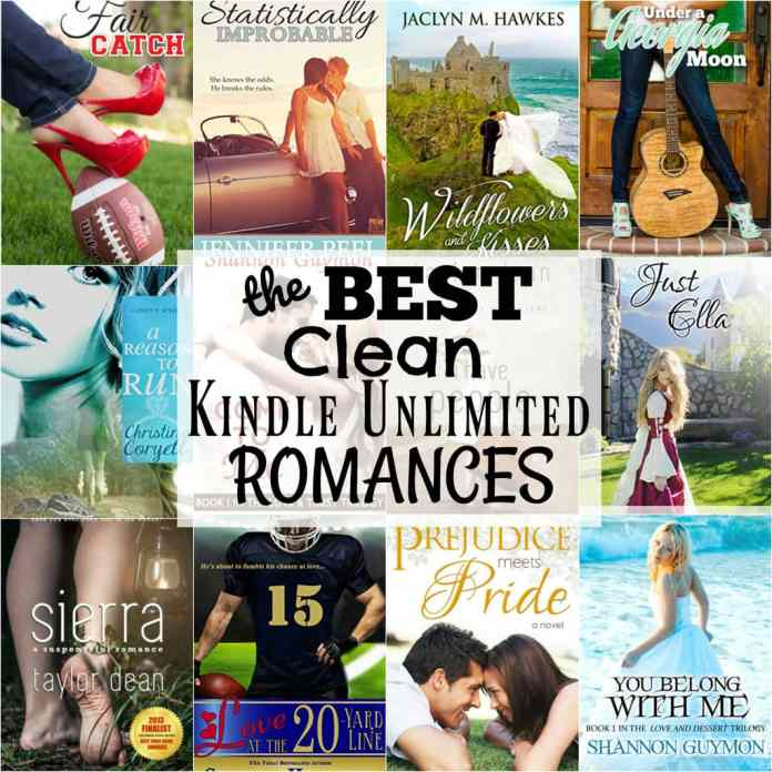 THE BEST CLEAN KINDLE UNLIMITED ROMANCE BOOKS - Butter with