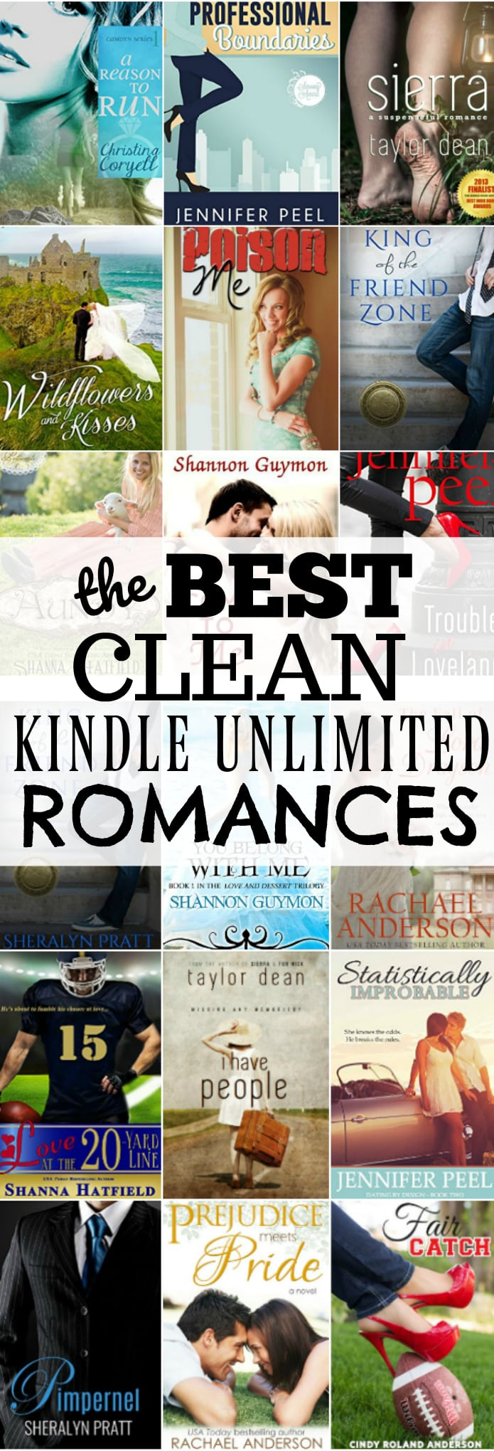 The Very BEST, Clean Kindle Unlimited Romance Books