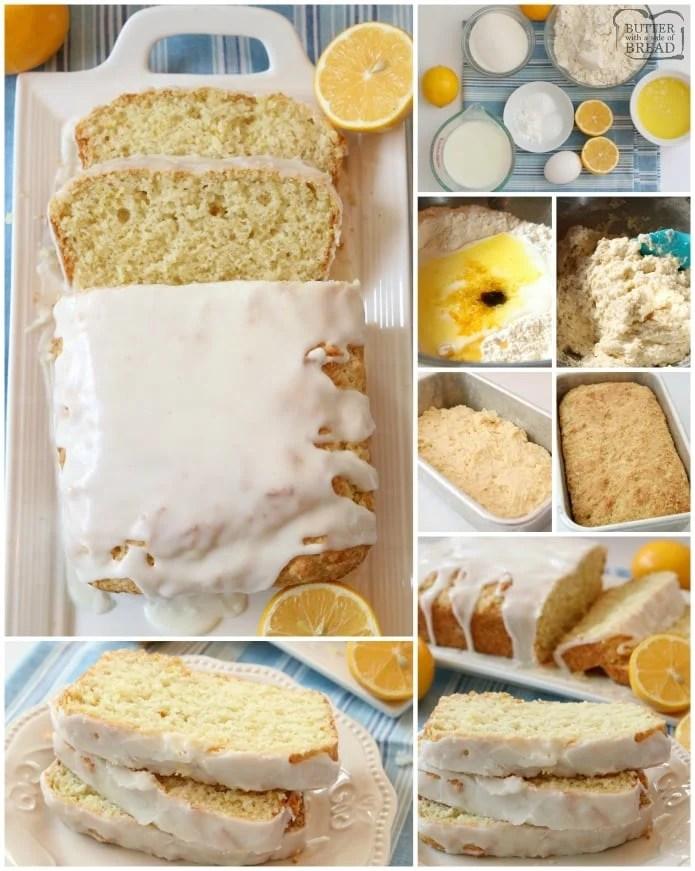 How to make Buttermilk Lemon Bread