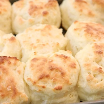 SOUR CREAM BISCUIT RECIPE {VIDEO INCLUDED!}