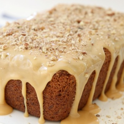 CARAMEL BANANA NUT BREAD