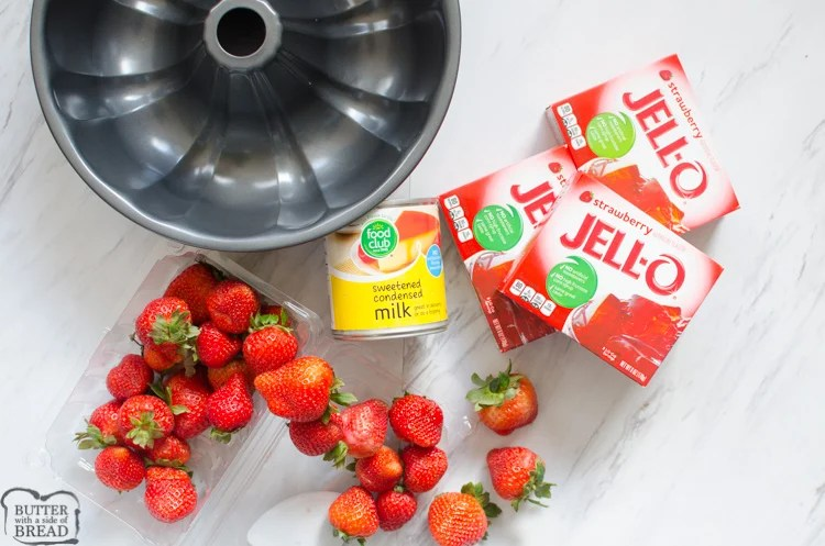 jello mold ingredients