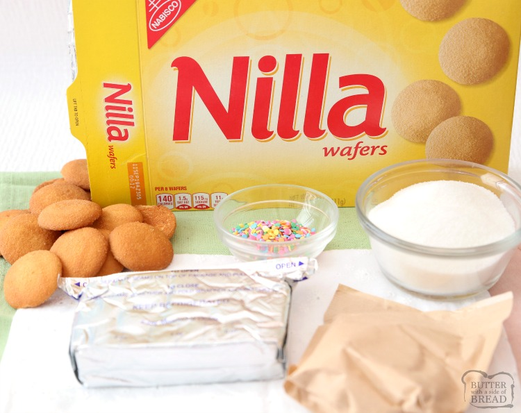 no bake cheesecake with Nilla wafers