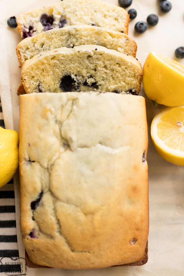 lemon blueberry quick bread recipe