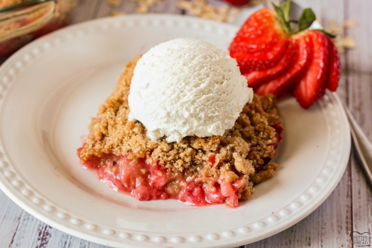 strawberry crisp recipe