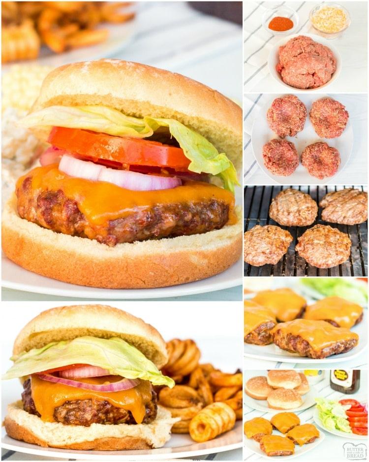 how to make a cheeseburger