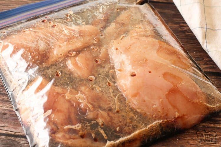 marinade for teriyaki chicken